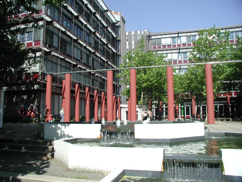 The university campus in Essen