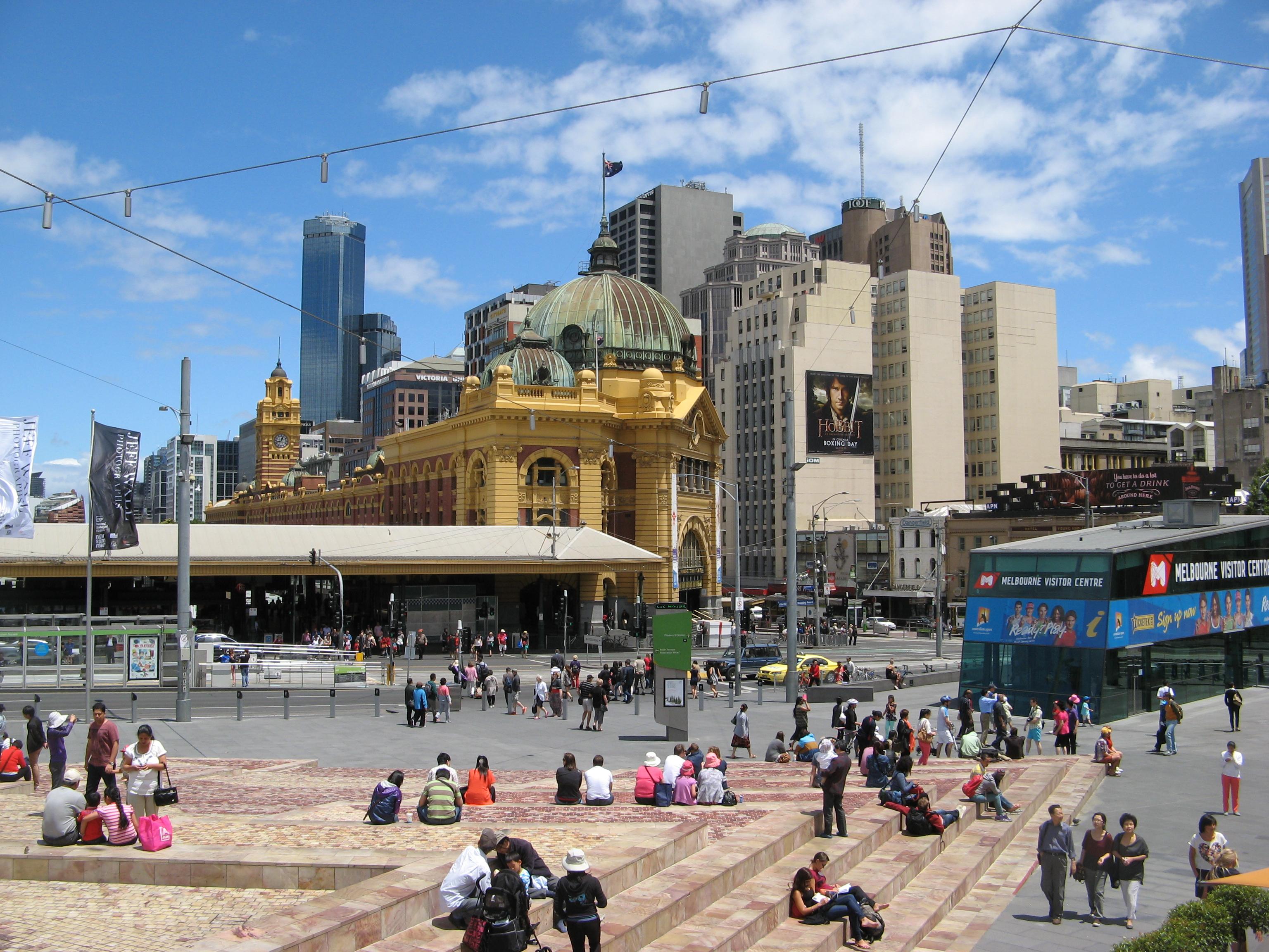 Melbourne Flinders Street stasjon