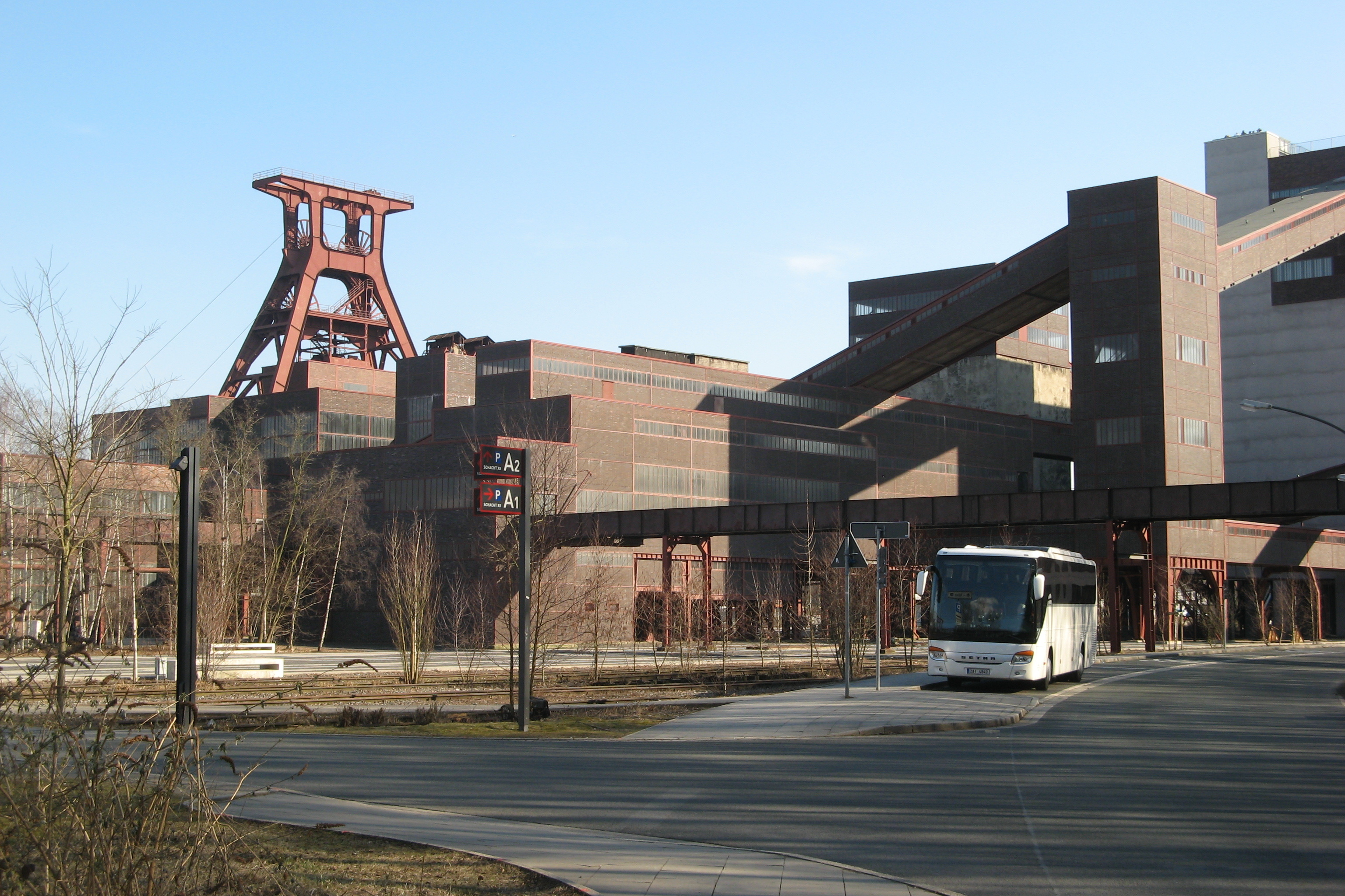 The UNESCO World Heritage site Zeche Zollverein in Essen
