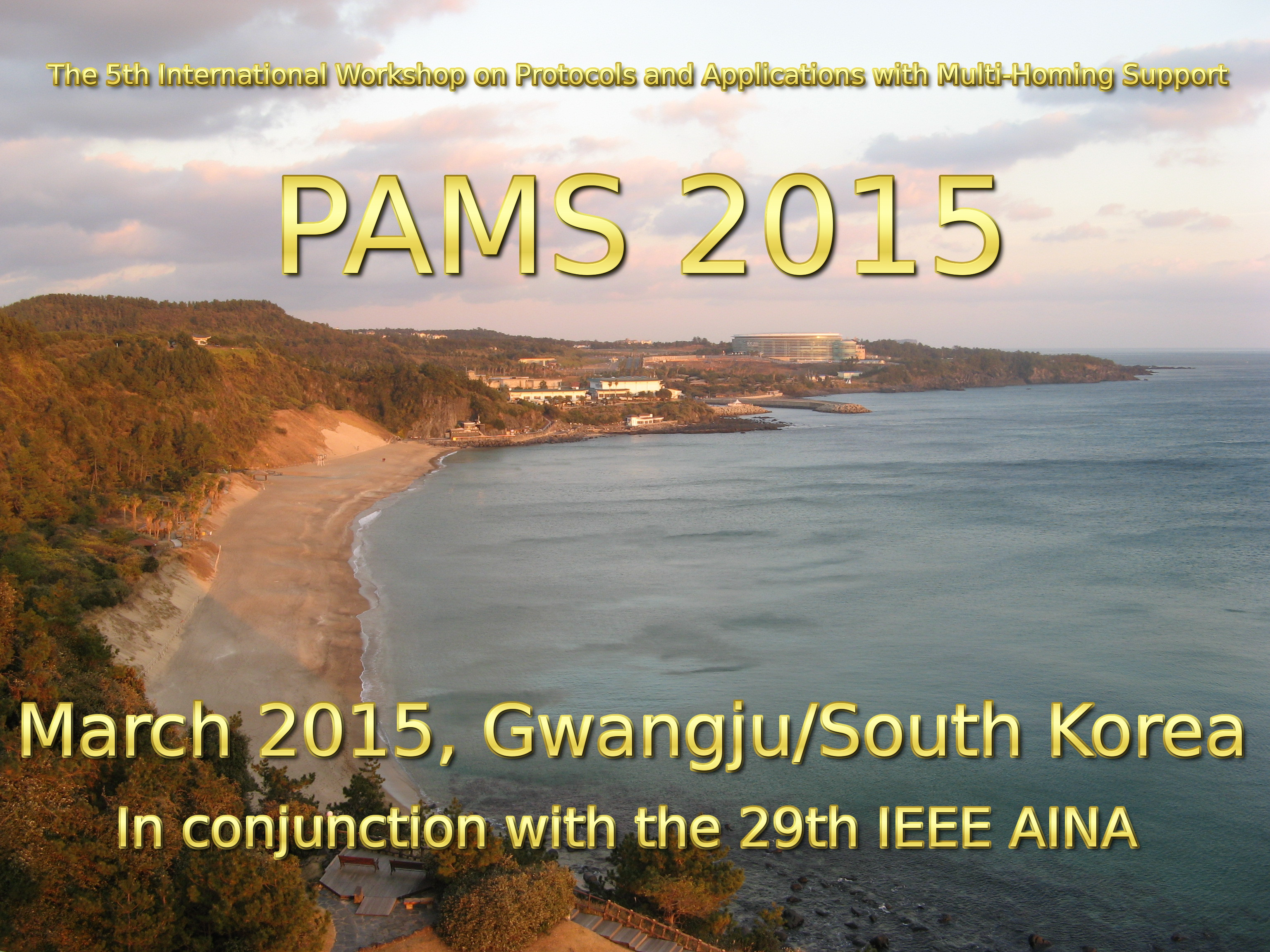 Logo of the PAMS 2015