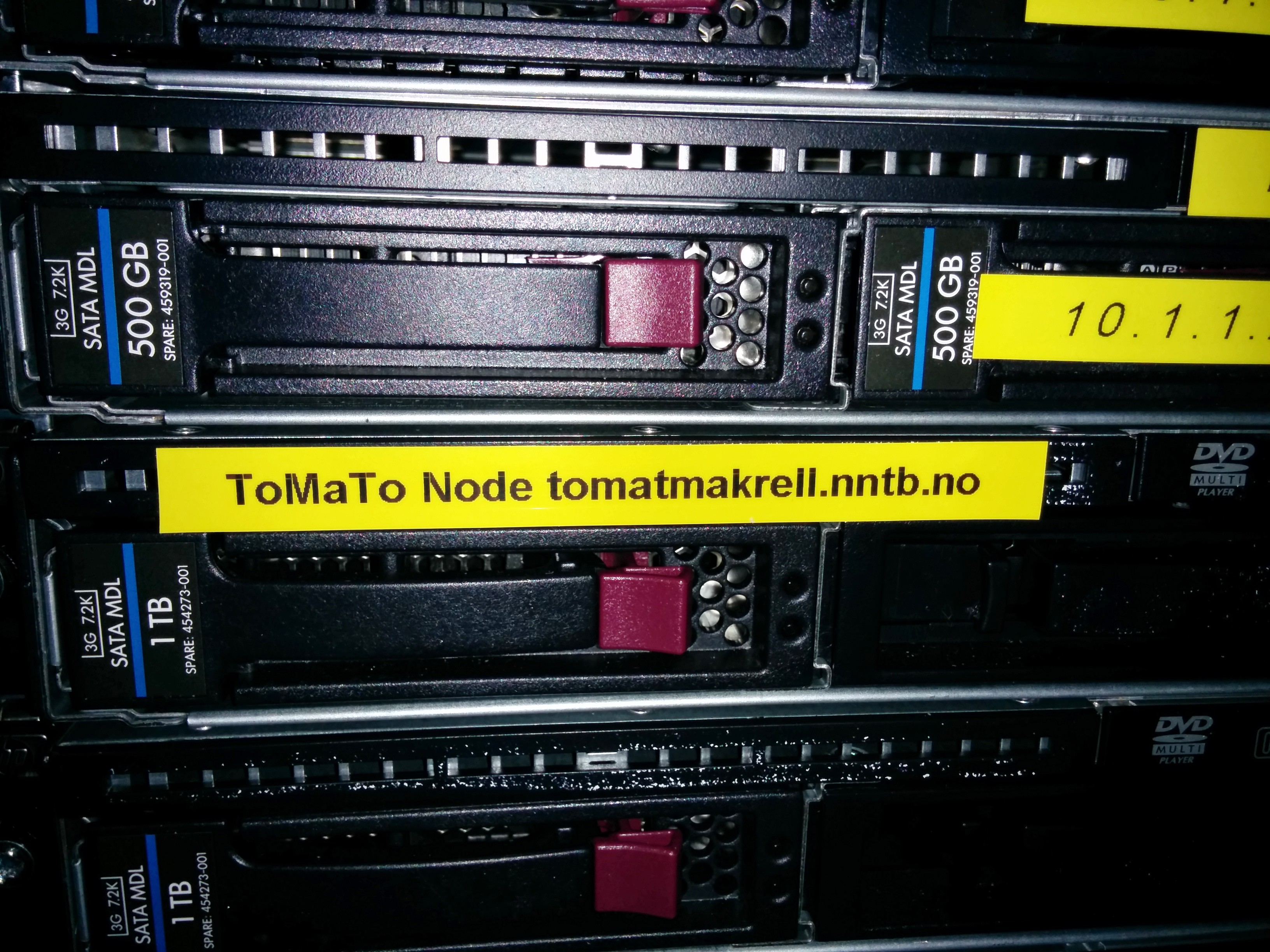 ToMaTo Node at the Simula Research Laboratory