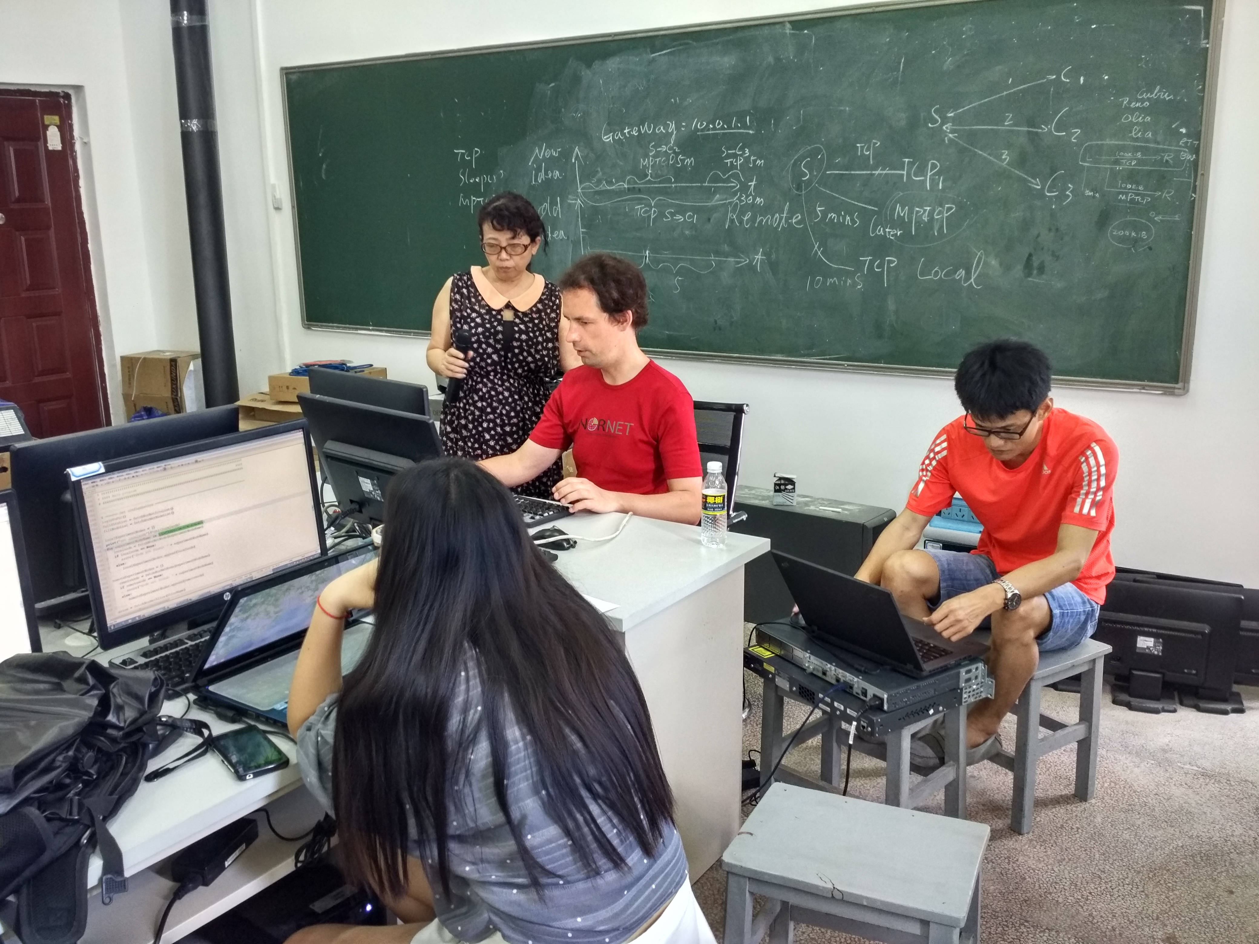NorNet Tutorial at Hainan University 2016-4