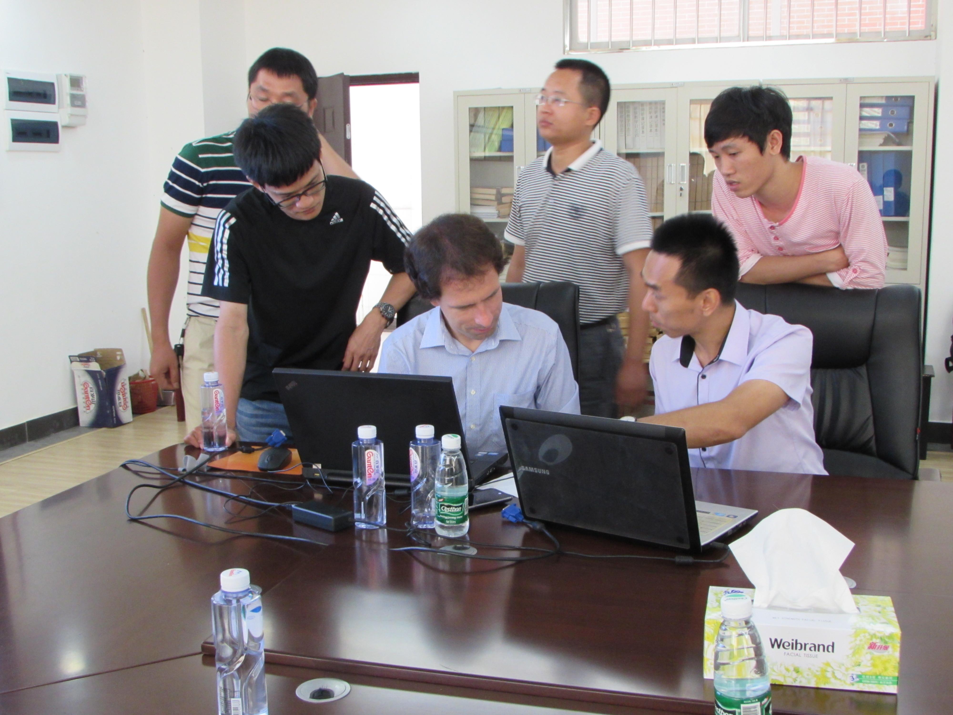 Site Installation at Haikou College of Economics 2