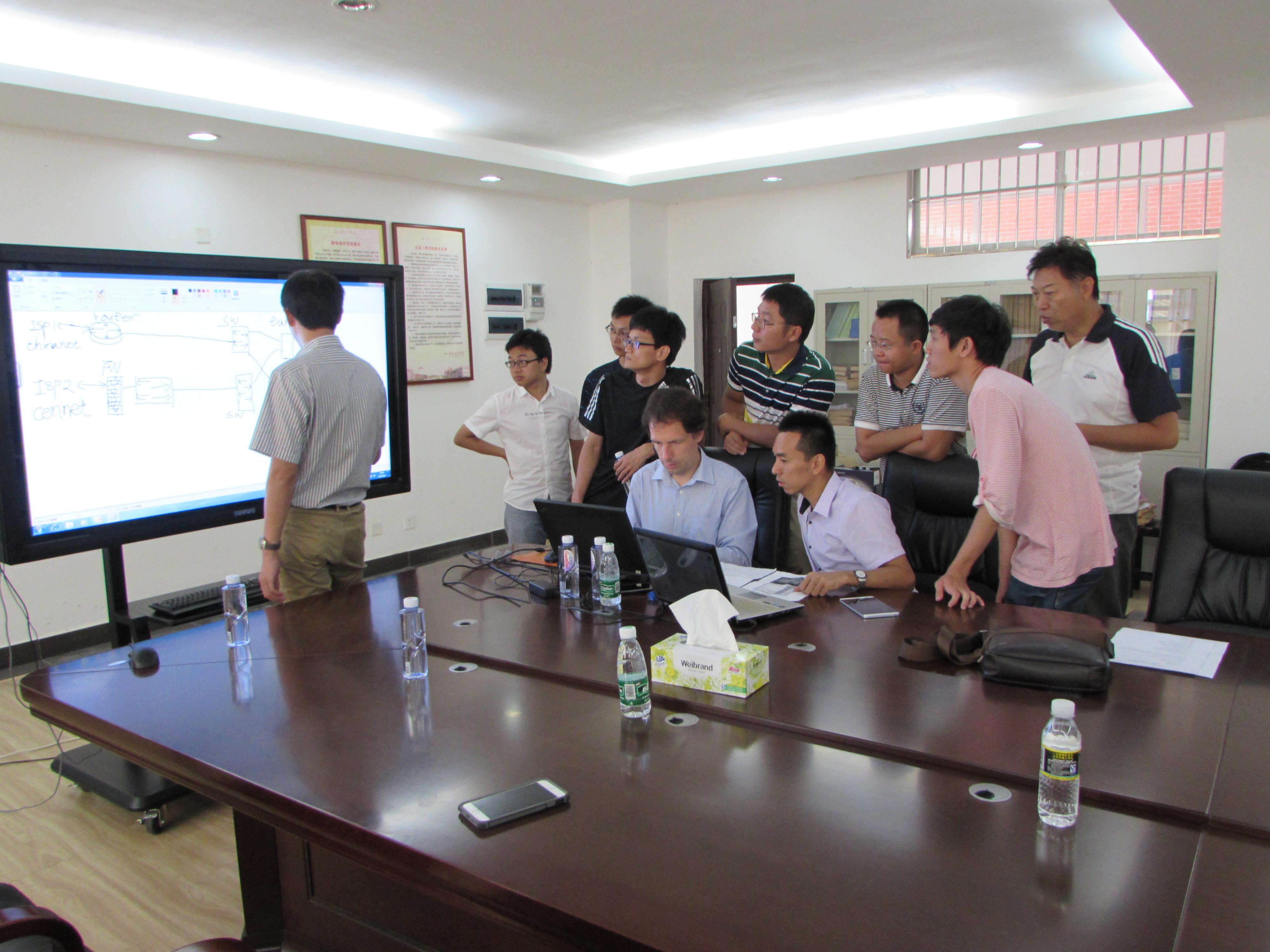 Site Installation at Haikou College of Economics 3